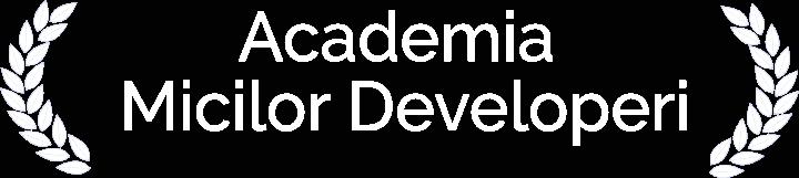 Web design Academia Micilor Developeri