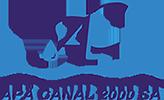 Web design APĂ Canal 2000 S.A.