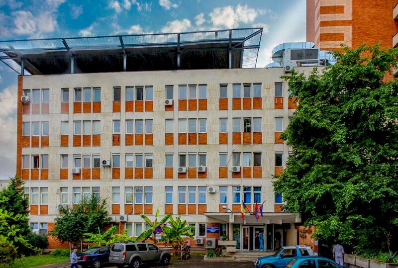 Web design County Clinical Emergency Hospital of Oradea