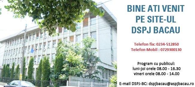 Web design Direcţia De Sănătate Publică Bacău