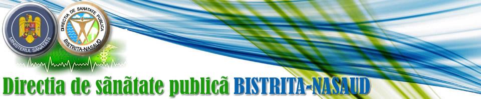 Web design Direcţia De Sănătate Publică Bistriţa-Năsăud