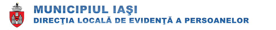 Web design Iasi - Population Registration Services