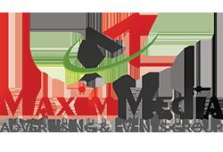 Web design Maxim Media Group Advertising & Events