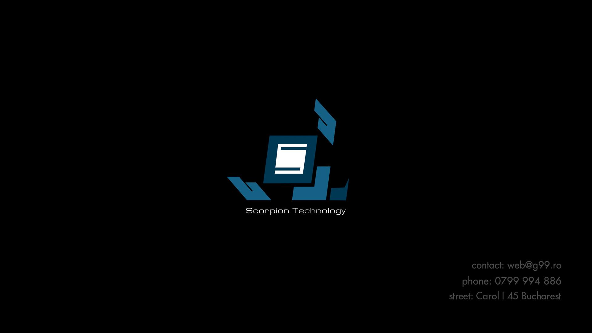Web design Scorpion Technology - G99