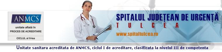 Web design Tulcea County Hospital