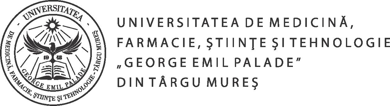 Web design University of Medicine and Pharmacy of Târgu Mureş