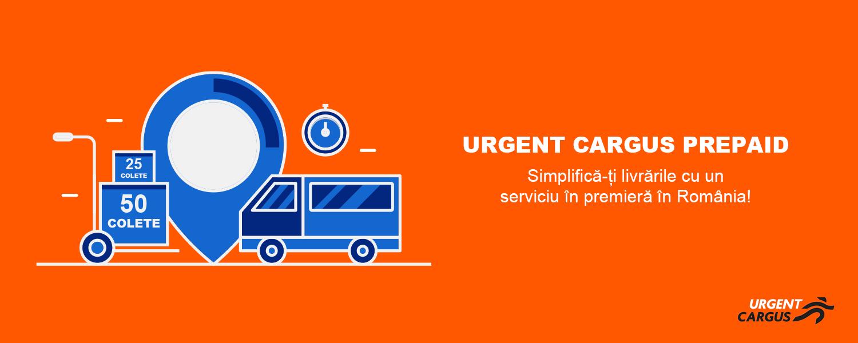 Web design UrgentCargus Ship & Go